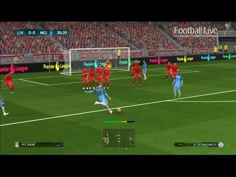 Liverpool vs Manchester City | Premier League 2016/2017 | PES 2017 Gameplay PC