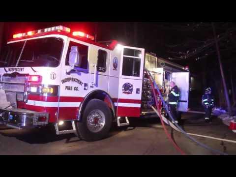 Fire Destroys Nitra Yeshiva Building Fire in Mount Kisco, NY