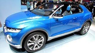 2015 Volkswagen T-Roc Concept - Exterior and Interior Walkaround - Debut at 2014 Geneva Motor Show