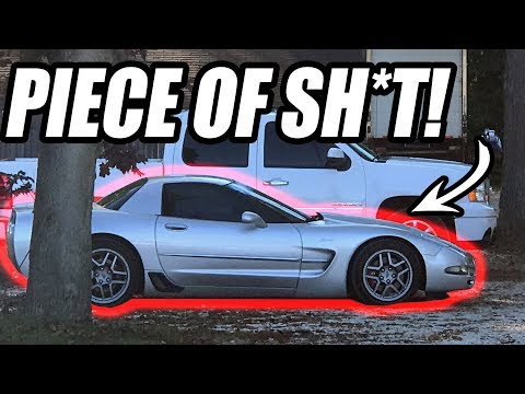 Here's the Wrecked C5 Z06 I ALMOST Bought From A Dealer...