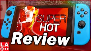 SUPERHOT Nintendo Switch Review (Video Game Video Review)
