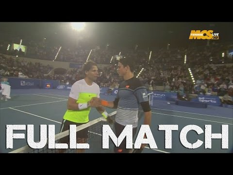 Abu Dhabi 2016 : Rafael Nadal vs Milos Raonic (Finale) - FULL EXHIBITION MATCH HD