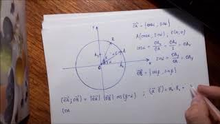 Тригонометрия. Урок#2. Синус (косинус) суммы (разности) двух углов
