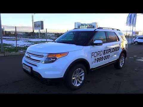 2015 Ford Explorer 3.5 Limited 4WD. Обзор интерьер, экстерьер, двигатель.
