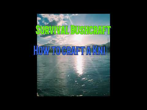 Survival | Bushcraft | How to craft a knife in the Rainforest to Survive