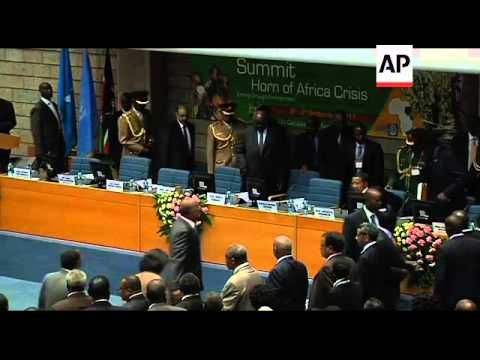 Leaders gather to discuss famine situation in Horn of Africa