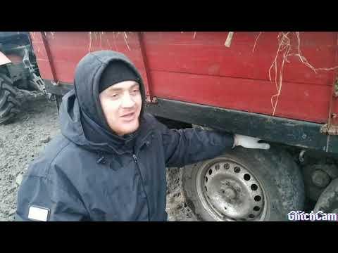 Самодельний трактор Иванович, возим гній до 2т в тандемі, плани на місяць ))))