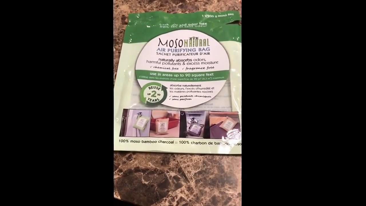 Moso Natural Air Purifying Bag Product Review