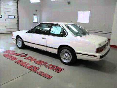 BMW Series Beaverdale PA YouTube - 1988 bmw 6 series