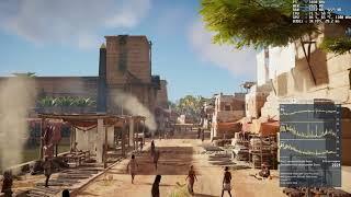 Assassins Creed Origins, fx8320 + amd7970, fps test hight.