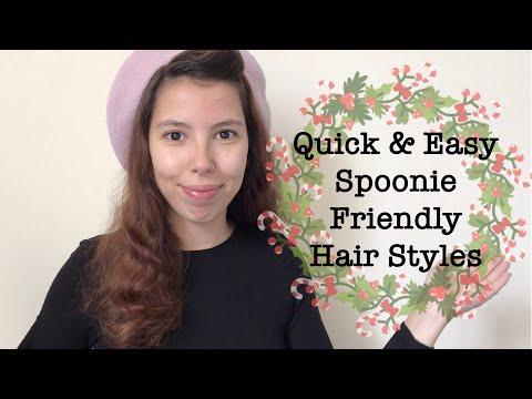 Quick & Easy Spoonie Friendly Hairstyles For Festive Season
