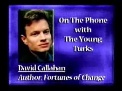 Rich Liberals Vs Conservatives w/ Author David Callahan