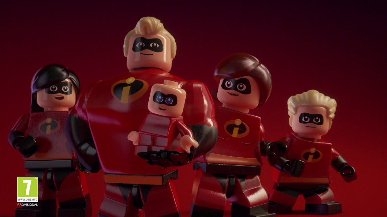 Presentamos Lego Los Increíbles Youtube