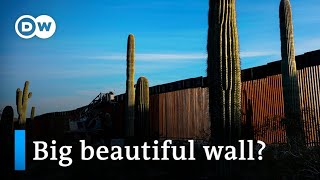 Trump diverts billions in defense funding for border wall | DW News