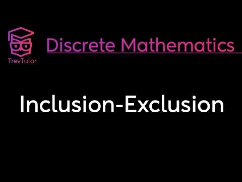 [Discrete Math 2] Inclusion Exclusion Principle