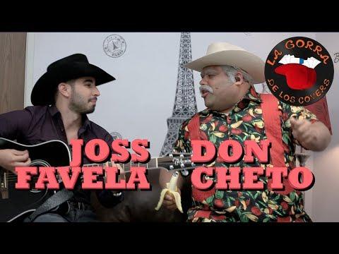 DON CHETO INTERRUMPE A JOSS FAVELA en La Gorra de los Covers