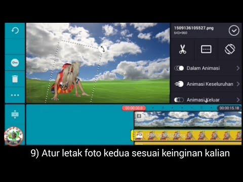 Cara Edit Foto Background Awan Bergerak Youtube