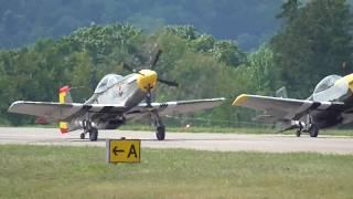 Titan Aircraft T-51 Mustang P51 Mustang Kitplane. Walk Around, Tandem Take Off.