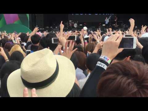 """(Full ver.) """"Troye Sivan"""" in KOREA 2016.07.23 JISAN VALLEY ROCK FESTIVAL"""
