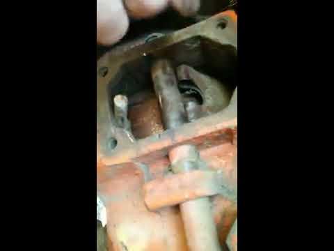 замена тормозной ленты Т40 без снятия бортовой РЕАЛЬНО