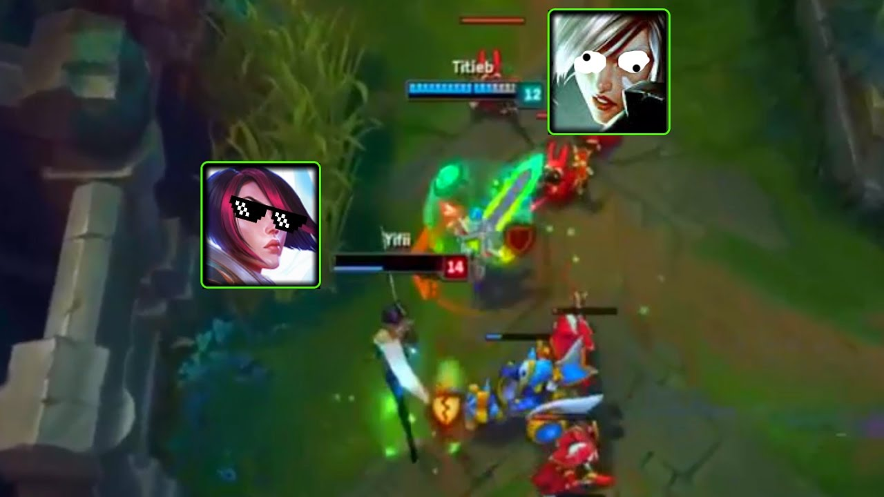 Fiora Salle De Bain lol best moments #93 fiora low hp outplays riven (league of legends)