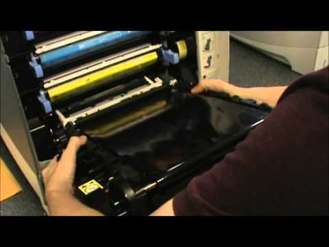 HP 4700 - How to Replace the Transfer Kit