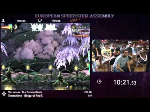 #ESA15Purple - Muramasa: The Demon Blade [ Momohime - Shigurui Any% ] Speedrun by Trineas