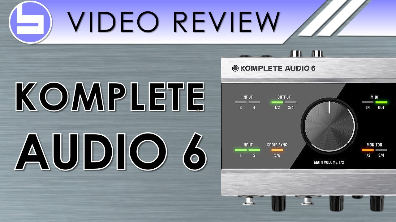 native instruments komplete audio 6 review youtube. Black Bedroom Furniture Sets. Home Design Ideas