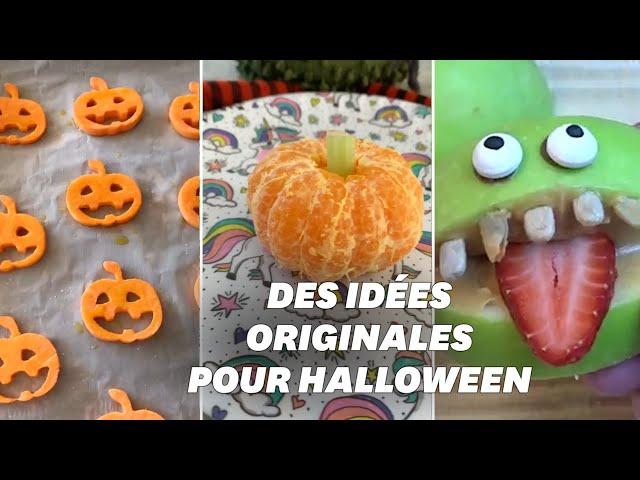 Pour Halloween, voici 5 recettes saines et faciles à faire