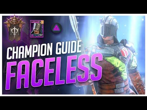 RAID Shadow Legends   Champ Guide   Faceless