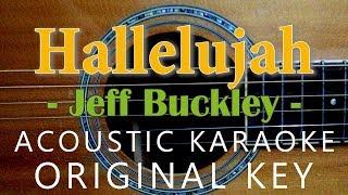 Hallelujah - Jeff Buckley / Leonard Cohen [Acoustic Karaoke]