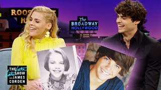 Noah Centineo & Busy Philipps' Embarrassing Teen Headshots