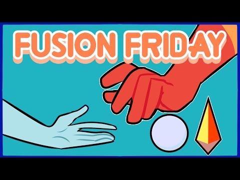 Fusion Friday | Jasper/Blue Pearl | Speedpaint
