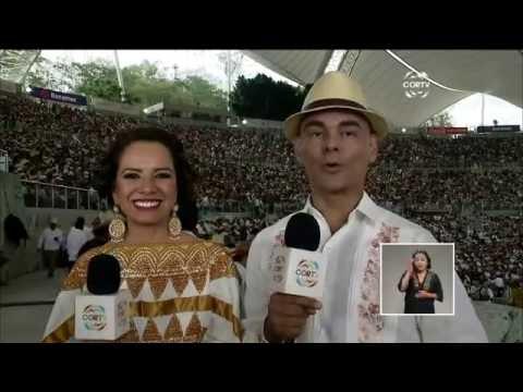 Guelaguetza 2016.    Lengua de Señas Mexicana.