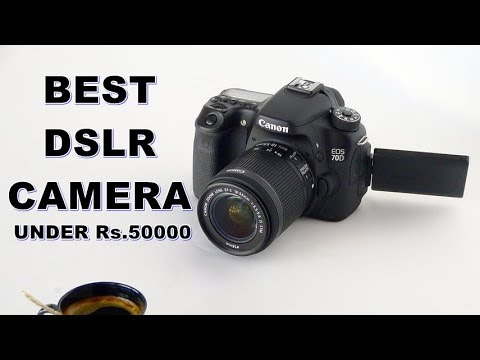Top 3 Best Dslr Camera In India Under Rs 50000 Canon Nikon Hindi