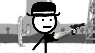 This man is a cold blooded psychopath - West of Loathing PART 1