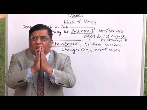 Phy-IX-9-01 Law of inertia,  Pradeep Kshetrapal channel