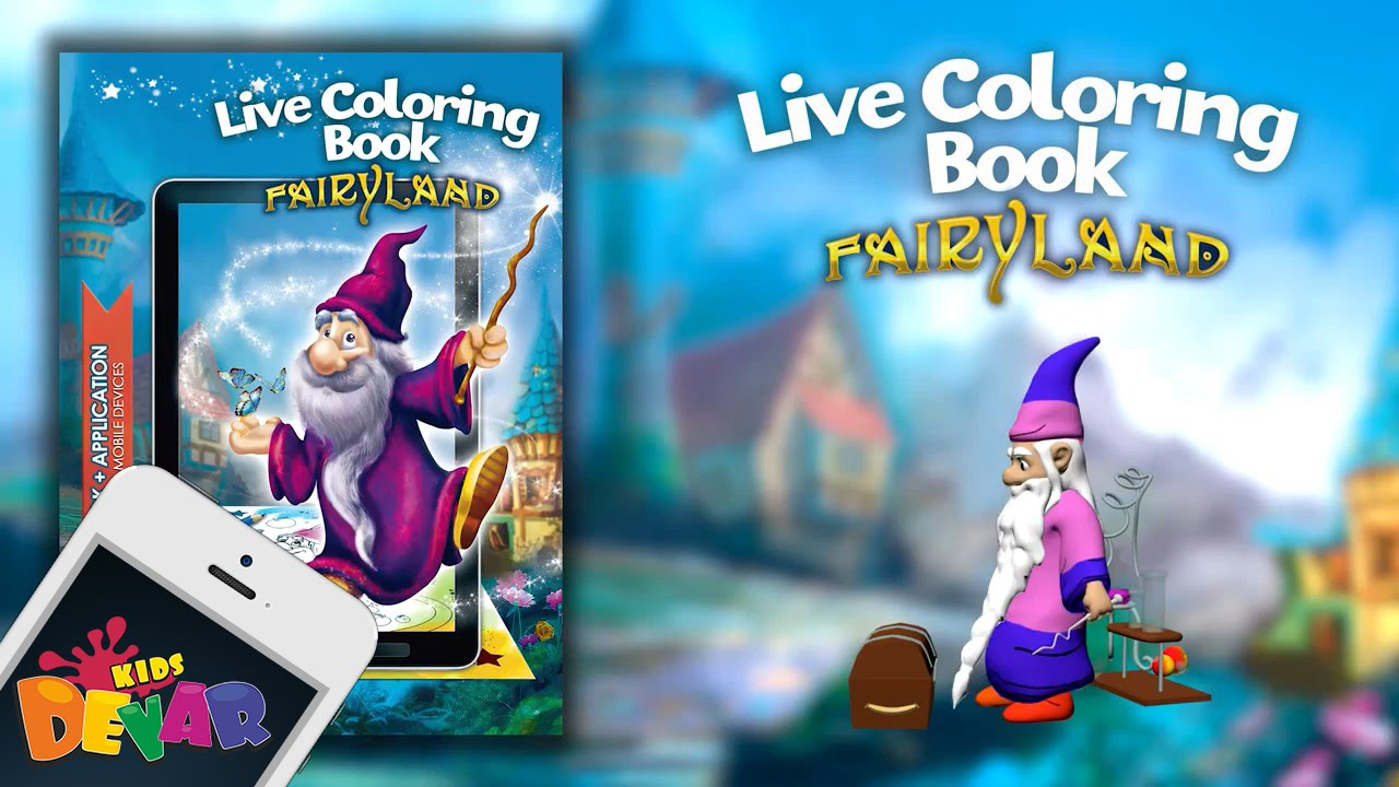 Fairyland Augmented Reality Coloring Book