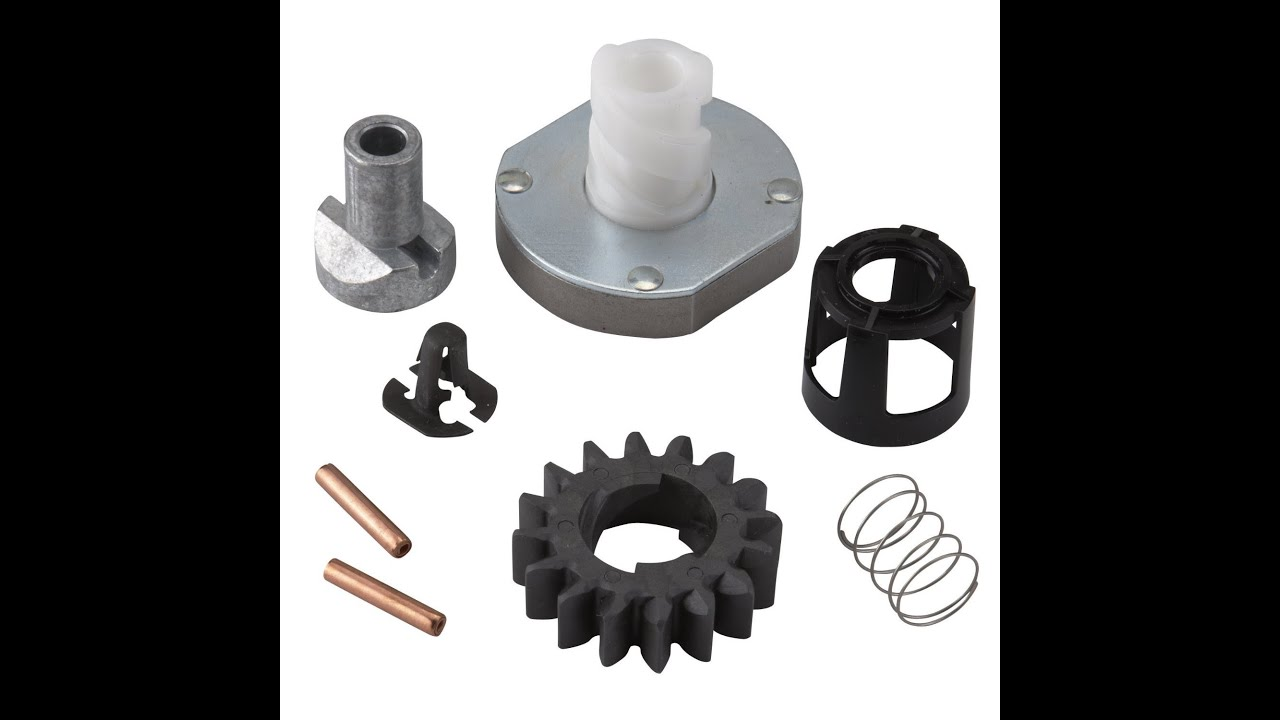 Starter pinion gear replacement youtube for Starter motor pinion gear