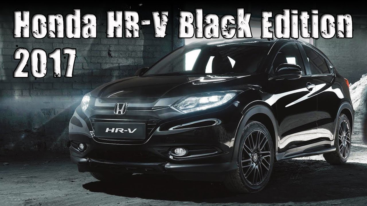 2017 Honda HR V Black Edition New Special Edition For
