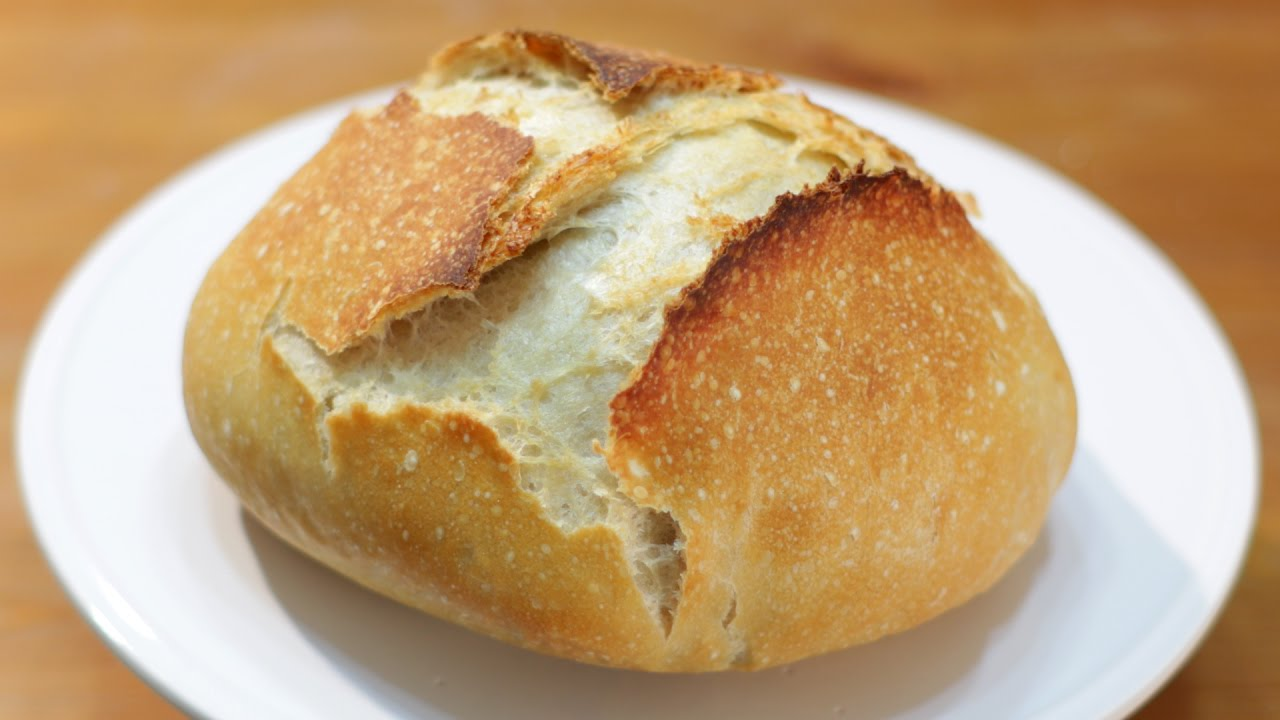 How to make No Knead Bread - Easy No Knead Dutch Oven ...