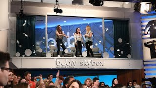 Ellen Kicks Off the 'bubly Skybox All Smiles Challenge'!