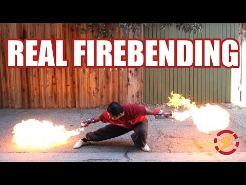 Punch Activated Arm Flamethrowers (Real Life Firebending)   Sufficiently Advanced