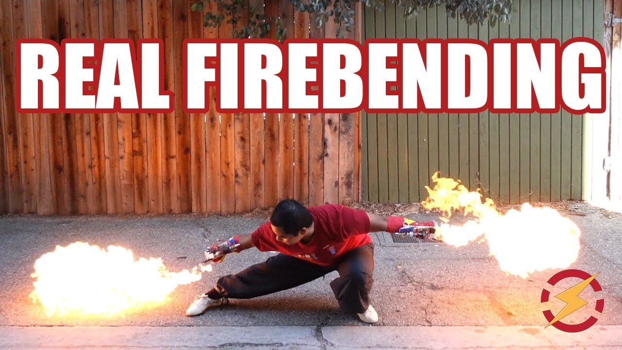 Punch Activated Arm Flamethrowers Sufficiently Advanced