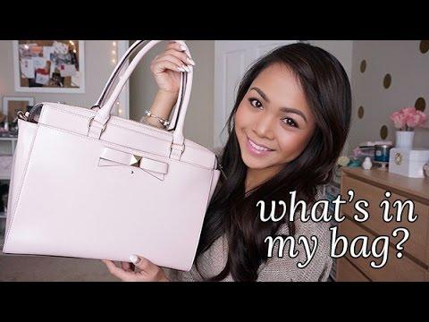 what's-in-my-bag?-(kate-spade)-|-charmaine-dulak