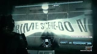Batman Arkham Knight-Azrael-Break Sword Choice