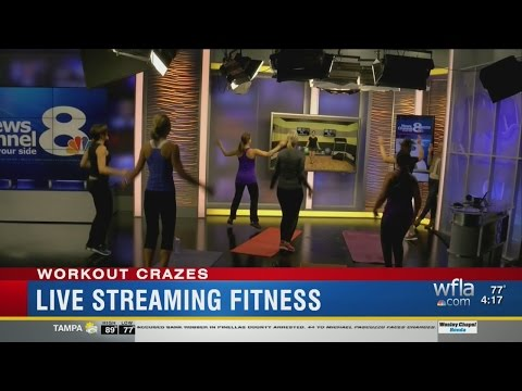 Fitness Craze: Streaming Workout Classes Online