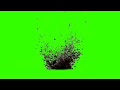 Dirt Charges 10 different FX green screen footage