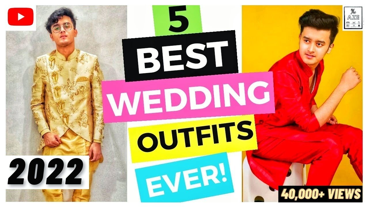 Download 5 Best WEDDING Outfits for Men (INDIA)   Marriage Outfit Ideas for Guys [ INDIAN SHAADI ]