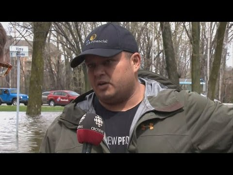 Quebec battles fierce flooding